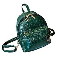 Crocodile Pattern Schoolbag Shoulder Bag Backpac Rucksack Dayback ShoppingTravel Hiking Bag