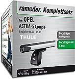 Rameder Komplettsatz, Dachträger SlideBar für Opel Astra G Coupe (115024-04203-15)