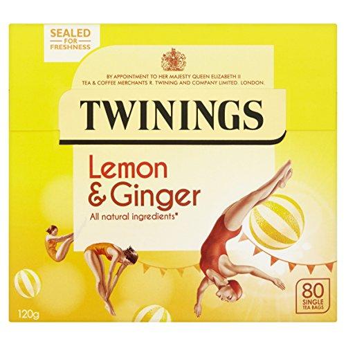 Twinings revive & revitalise Lemon & Ginger 80 Btl. 120g -