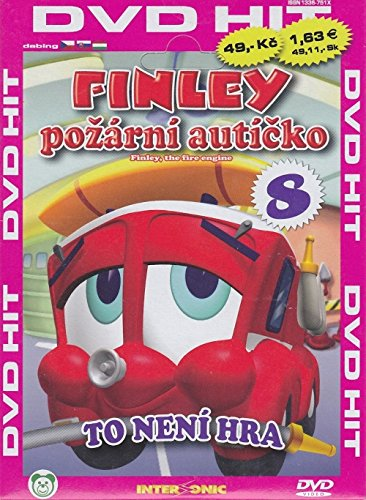 Finley - To neni hra (Finley the Fire Engine DVD 8) [paper sleeve]