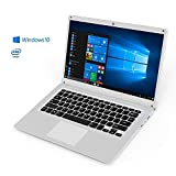 "Ordenador Portátil laptop - Winnovo V146 14"" 4GB RAM 32GB eMMC Windows 10 FHD IPS Intel Quadcore wifi Bluetooth HDMI office 365 - Teclado QWERTY (Plata)"