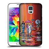 Official Steven Brown Scotish Autumn People Hard Back Case for Samsung Galaxy S5