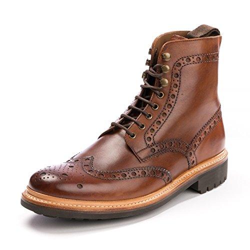 online store e6539 5ca85 Grenson Fred Boots UK 9 Tan Commando Sole