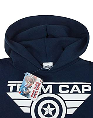Unisexe-Enfant - Noisy Sauce - Captain America Civil War - Sweat À Capuche