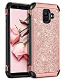 BENTOBEN Glitter Case for Samsung Galaxy A6 2018, Galaxy A6