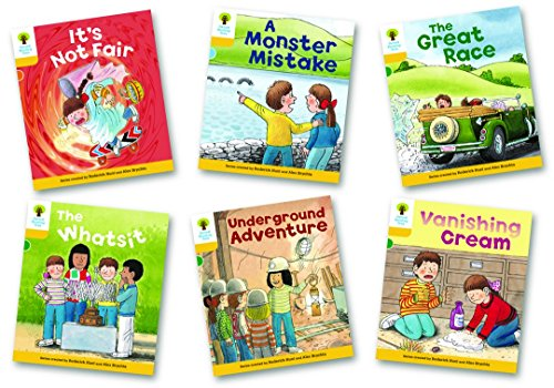 Oxford Reading Tree Biff, Chip and Kipper Level 5. More Stories: Mixed Pack of 6