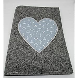 Tasche klein mit Henkel und Klettverschluß, Geldbeutel mit allover print