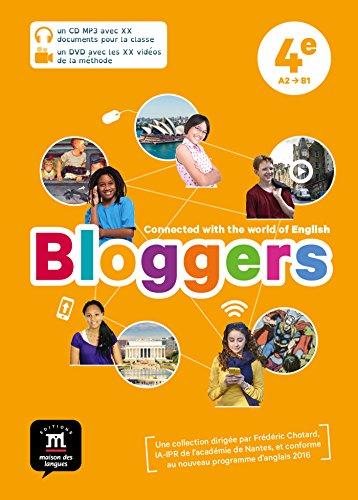 Bloggers 4e (A2-B1) - Pack CP MP3 + DVD vidéo d'anglais