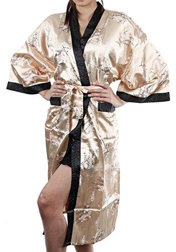 Thai Silk - Robe de chambre - Femme Design #10 Oro