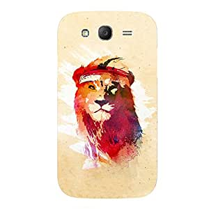 Back cover for Samsung Galaxy Grand Prime Gym Lion