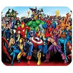 Los Vengadores Ironman Capitán América alfombrilla para ratón, PC portátil Gaming Mice alfombra de juegos Mousepad