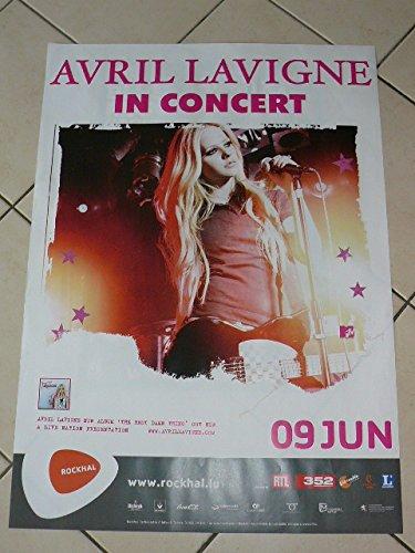 April Lavigne–in Concert–60x 80cm Kunstdruck/Poster