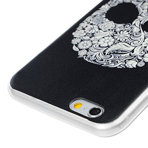 Lanveni Handyhülle für iPhone 6 / iPhone 6S Hülle×3, Handytasche Etui Protective Case Cover TPU Silikon Schutzhülle TPU-Bumper Weiche Silikon Case mit Bunte Cover Design (Farbe 6) Farbe 2