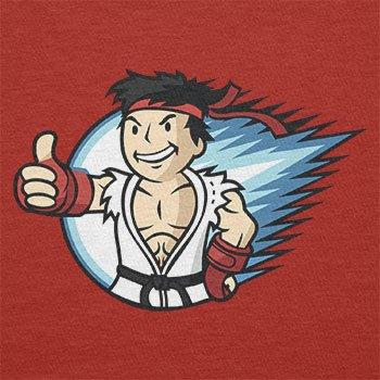 TEXLAB - Ryu Boy - Damen T-Shirt Rot