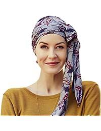 Christine Headwear Mantra Feathers Wendeturban Kopftuch Turban Damenturban Chemo-Kopfbedeckung