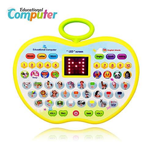 BIYASO, Giocattolo educativo per Bambini da 1 a 3 Anni, Yellow