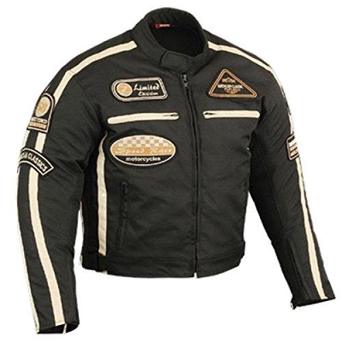 Motorrad Jacke Motorrad textilejacke Motorrad schwarz Jacke L - Off-road Jacke Motorrad