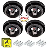 Best Dummy Cameras - Maxesla 4 Pack Dummy Fake Security CCTV Dome Review