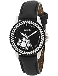 Relish Gift for Girls Analog Black Dial Watches, Gift for Sister, Gift for Girlfriend - RE-L079BS