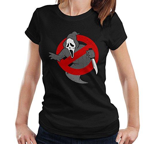Ghostbusters Scream Mashup Women's T-Shirt