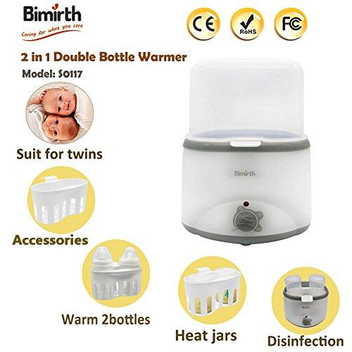 bimirth 2en 1babykostwärmer Biberons Chauffe Biberon avec fonction maintien au chaud