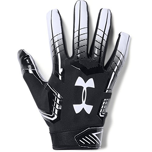 Under Armour - UA F6 American Football Handschuhe - Black/White - Medium