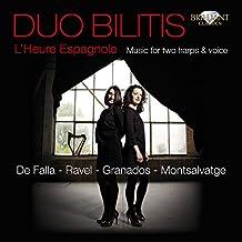 Valses Poeticos for Two Harps: Vals mariposa (Arr. by Elisabeth Colard & Ekaterina Levental)