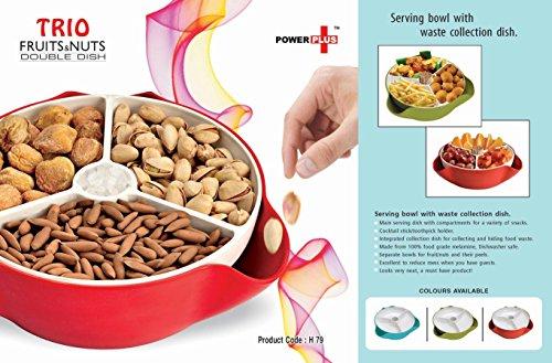 Power Plus Trio Fruit & Nuts Double Dish