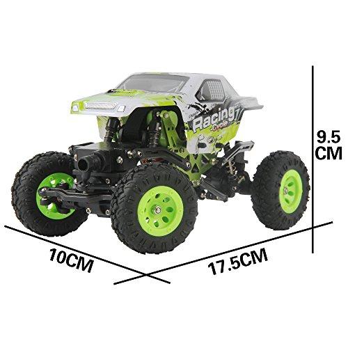 1:24 Skala RC Rennwagen 2.4G Hochgeschwindigkeits-4WD Elektrischer Energie-Buggy weg vom Straßen-Auto - 8
