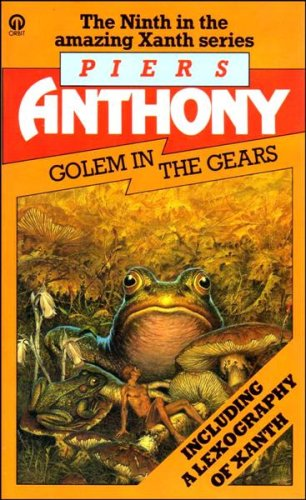 Cover of Golem In The Gears (Xanth 9)