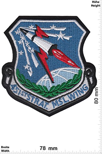 Patch - 451st Strategic Missile Wing - HQ - Military - U.S. Army - Air Force -Tactical - Arme Patches - Aufnäher Embleme Bügelbild Aufbügler -