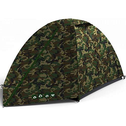 Husky - 2 Personenzelt Bizam 2 Camouflage; kleines und leichtes Zelt - ideal zum Wandern, Trekking und Kanu Fahren