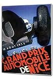 Cartello Targa in Metallo XXL Epoca Auto Automobilismo Gran Premio di Nizza