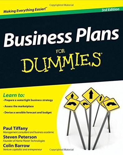 Business Plans For Dummies by Paul Tiffany (2012-06-01)