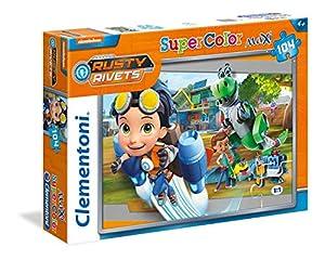 Clementoni 23721-Rusty Rivets Maxi Puzzle, 104Piezas