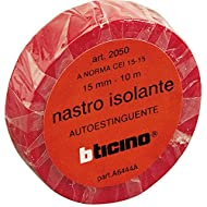 Bticino s2050nr Kit Isolierband, 15 mm, 10 m, rot