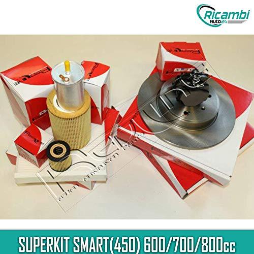 KIT TAGLIANDOTAGLIANDO SMART(450) 600/700/800cc + DISCHI E PASTIGLIE FRENO SMART(450) 600/700/800cc SUPERKIT