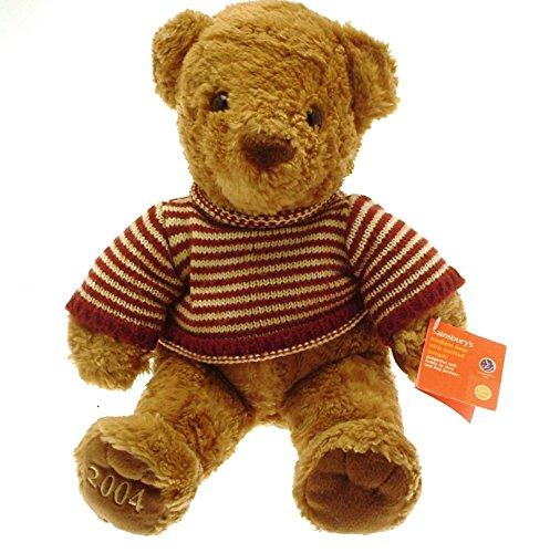 sainsburys-ours-teddy-bear-2004-m-a-rayures-gb370