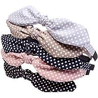 Lurrose Cute Dot Headbands niñas 5PCS