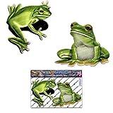 Paquete de pegatinas de coches de animales de ranas - ST00058_SML - JAS El Pegatinas
