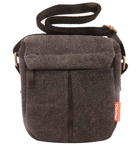 ale SLR-Kamera Tasche für Nikon Sony LCS-BBF NEX5T RX1 RX1R A5000 A5100 A6000 (Grau) (A5100-sony-kamera)