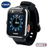 VTech Kidizoom Smartwatch Connect DX2 - Noire - Montre Connectée Pour Enfants