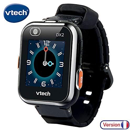 Vtech 193865 Kidizoom Smartwatch Connect DX2 Noire Uhr, Schwarz, Norme