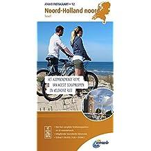 Radwanderkarte 12 Noord Holland noord, Texel 1:50 000 (ANWB fietskaart (12))