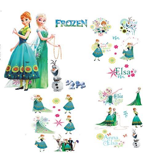 kibi adesivi Muro Frozen Camera Da Letto Bambini adesivo Muro Bambini Disney Adesivi Murali Cameretta Frozen stickers Muro Frozen Stickers Muro Elsa Adesivo Da Parete Decorazione Da Parete