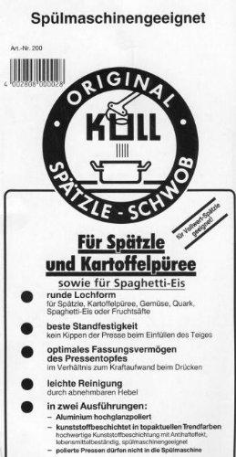 Kull Spätzle-Schwob Spätzlepresse - 3