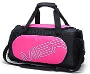 A proposito di Borsa MIER Bag Sports è una scelta conveniente per ogni vostra attività quotidiane. Si è realizzata in tessuto a doppia poliestere di alta qualità. Progettato con un vano cerniera principale, piccola tasca interna per la chiave...