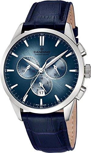 Candino C4517/7 Reloj los Hombres Klassik Sport Athletic Chic Cronógrafo