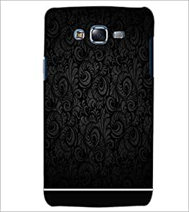PrintDhaba BLACK PATTERN D-6323 Back Case Cover for SAMSUNG GALAXY J7 (Multi-Coloured)