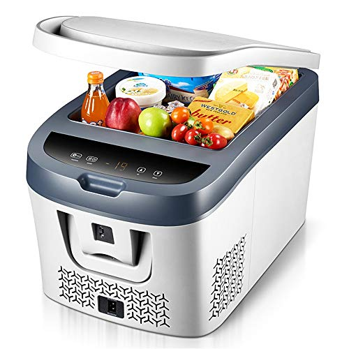 KPOON Refrigerador pequeño Coche Nevera compacta